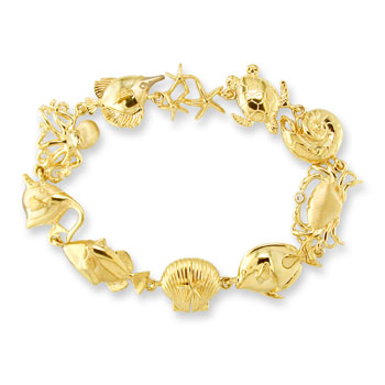 Na Hoku's Sea Life Bracelet