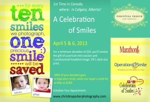 Celebration of Smiles for webpage